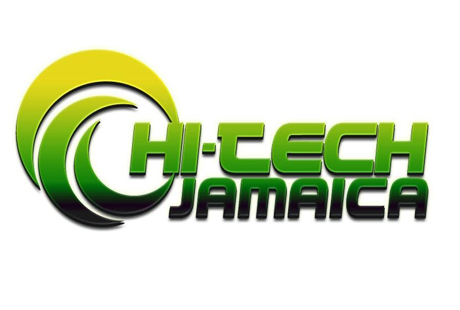 #203 for Logo for Hi-Tech Jamaica by godye29