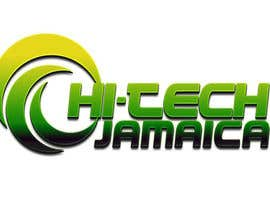 #203 para Logo for Hi-Tech Jamaica por godye29