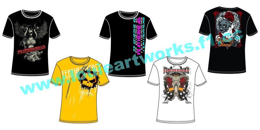 Конкурсная заявка №51 для T-shirt Design for Featherhead