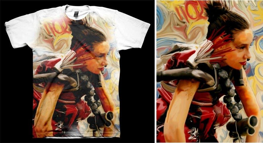 Penyertaan Peraduan #                                        57                                      untuk                                         T-shirt Design for Featherhead