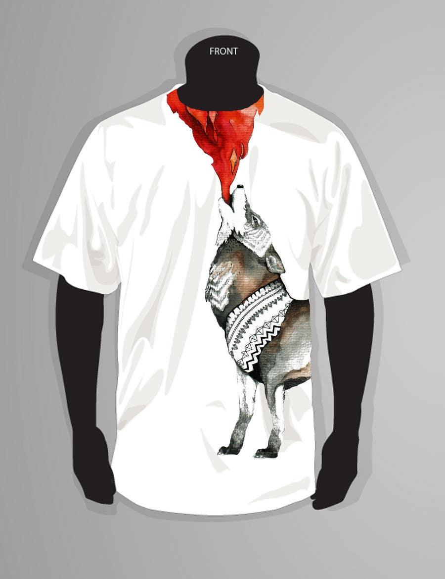 Penyertaan Peraduan #                                        41                                      untuk                                         T-shirt Design for Featherhead