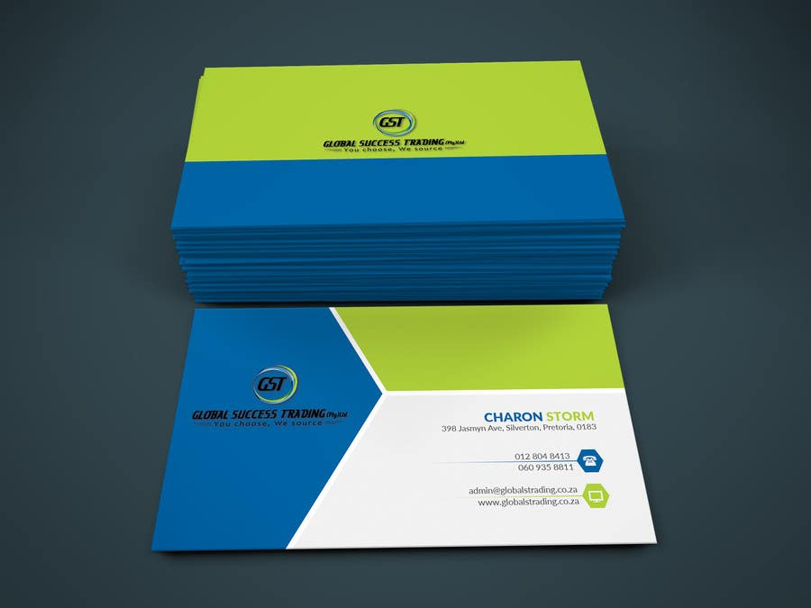 Entry #11 by floroS for Design a letterhead and Business cards for a ...