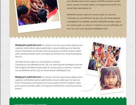 #8 cho Newsletter design for wed and for print bởi wlgprojects
