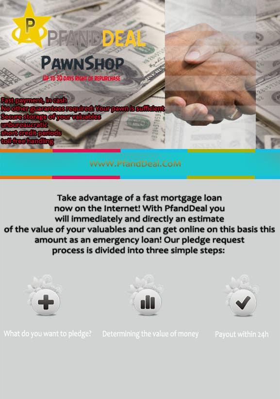 Konkurrenceindlæg #                                        12                                      for                                         PawnShop BusinessFlyer