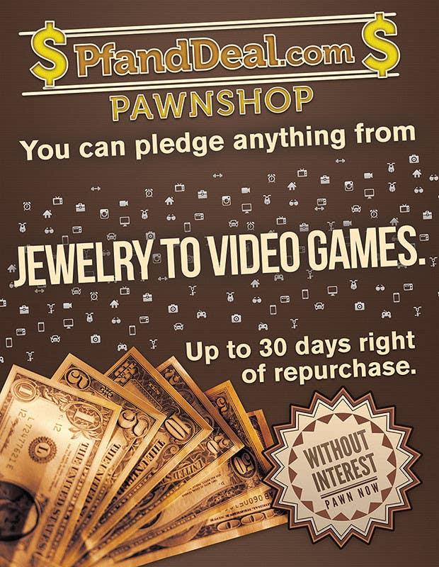Konkurrenceindlæg #                                        1                                      for                                         PawnShop BusinessFlyer