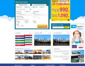 #9 untuk Design a Website Mockup for Online Booking Engine oleh shankardesigner
