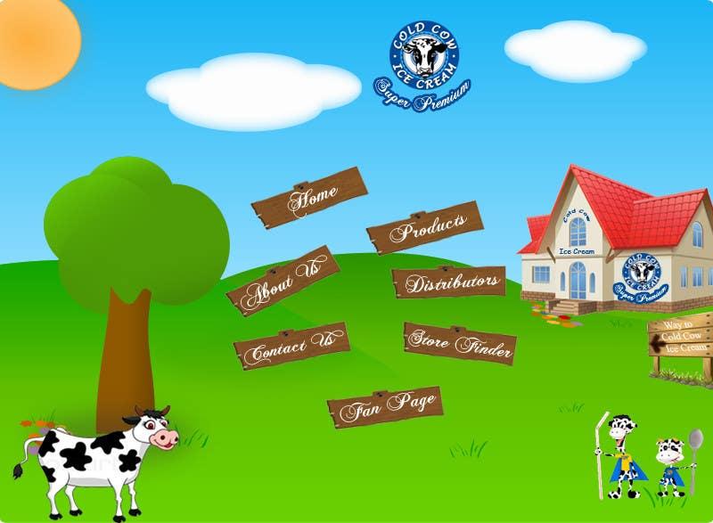 "Bài tham dự cuộc thi #                                        12                                      cho                                         Build a Website for ""Cold Cow"" ice cream"