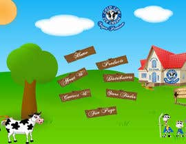 "nº 12 pour Build a Website for ""Cold Cow"" ice cream par acutegroups"