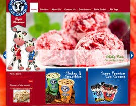 "nº 7 pour Build a Website for ""Cold Cow"" ice cream par shilpakhemka"