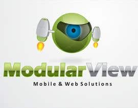 #86 para Logo Design for Modular View por jimapp