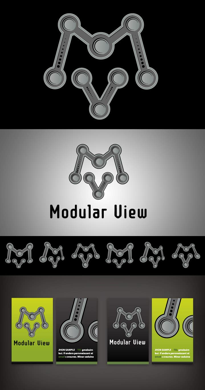 Конкурсная заявка №63 для Logo Design for Modular View