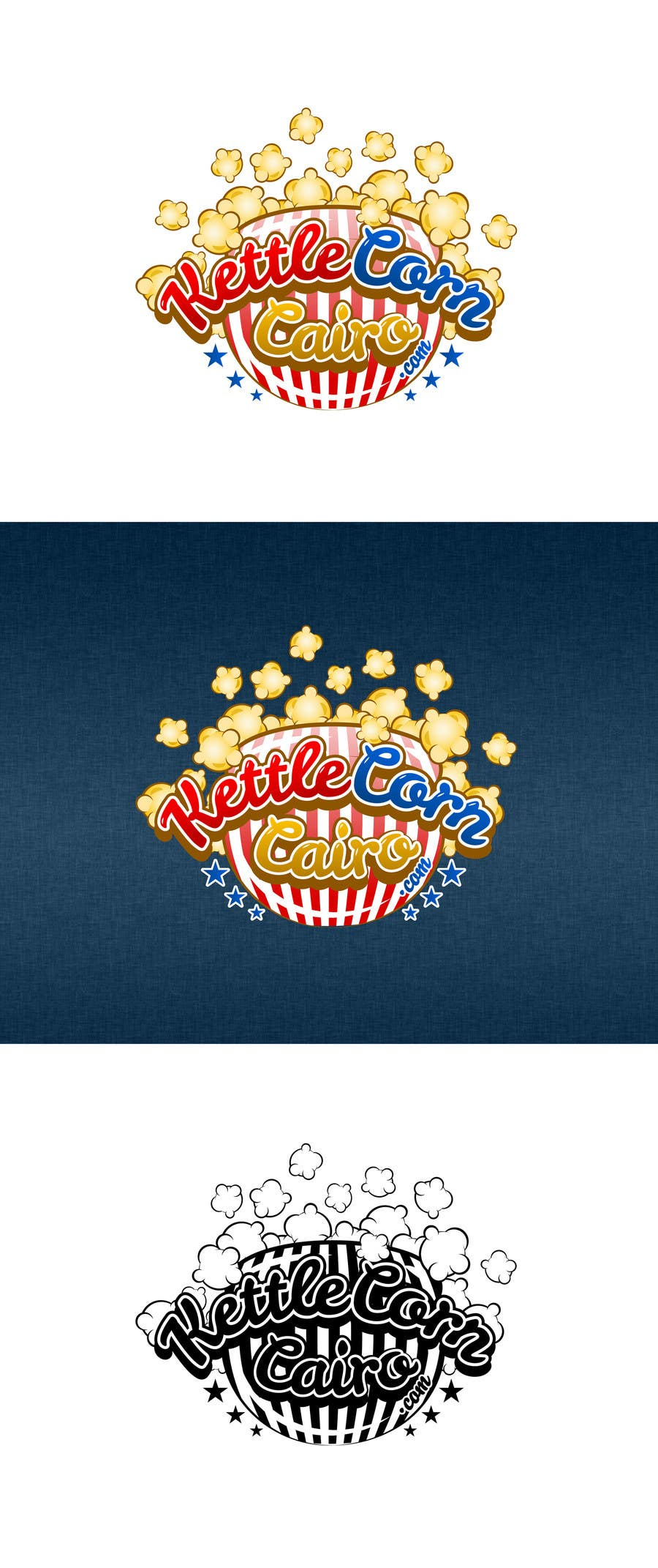 """Contest Entry #46 for Design a Logo for """"Kettle Corn Cairo"""""""
