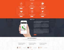 #23 for Create a website mockup for SEO-focused brand af smartyogeeraj