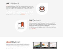 #22 for Create a website mockup for SEO-focused brand af nextdesign2007