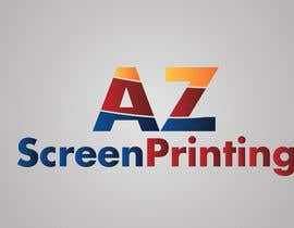 speedpro02 tarafından Design a Logo for Arizona Screen Printing - AZscreenprinting.com için no 5
