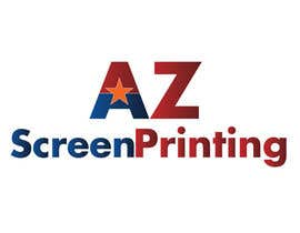 #6 for Design a Logo for Arizona Screen Printing - AZscreenprinting.com by speedpro02