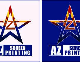 #61 para Design a Logo for Arizona Screen Printing - AZscreenprinting.com por edalex100
