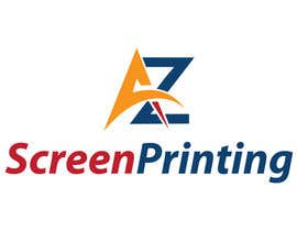 #65 para Design a Logo for Arizona Screen Printing - AZscreenprinting.com por kelompok108