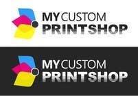 Design a Logo for MyCustomPrintShop.com için Graphic Design67 No.lu Yarışma Girdisi