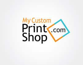 #7 para Design a Logo for MyCustomPrintShop.com por surajit005