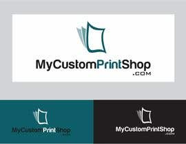 #26 para Design a Logo for MyCustomPrintShop.com por ZahidAkash009