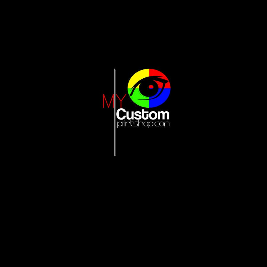 Design a Logo for MyCustomPrintShop.com için 28 numaralı Yarışma Girdisi