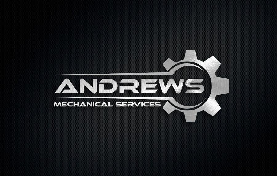 entry 82 by anibaf11 for andrews mechanical logo freelancer rh freelancer pk mechanical log splitter mechanical log splitter