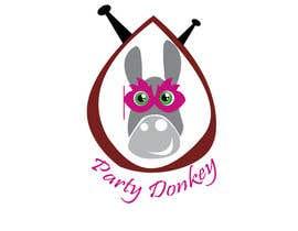#33 para Party Donkey-Mascot Logo por komalsaumya