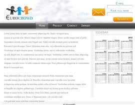 #2 for Design eines Webseiten-Modells for EUROCROWD by MozzieMD