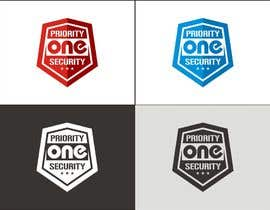 #86 untuk Design a Logo for Priority one security. oleh diptisarkar44