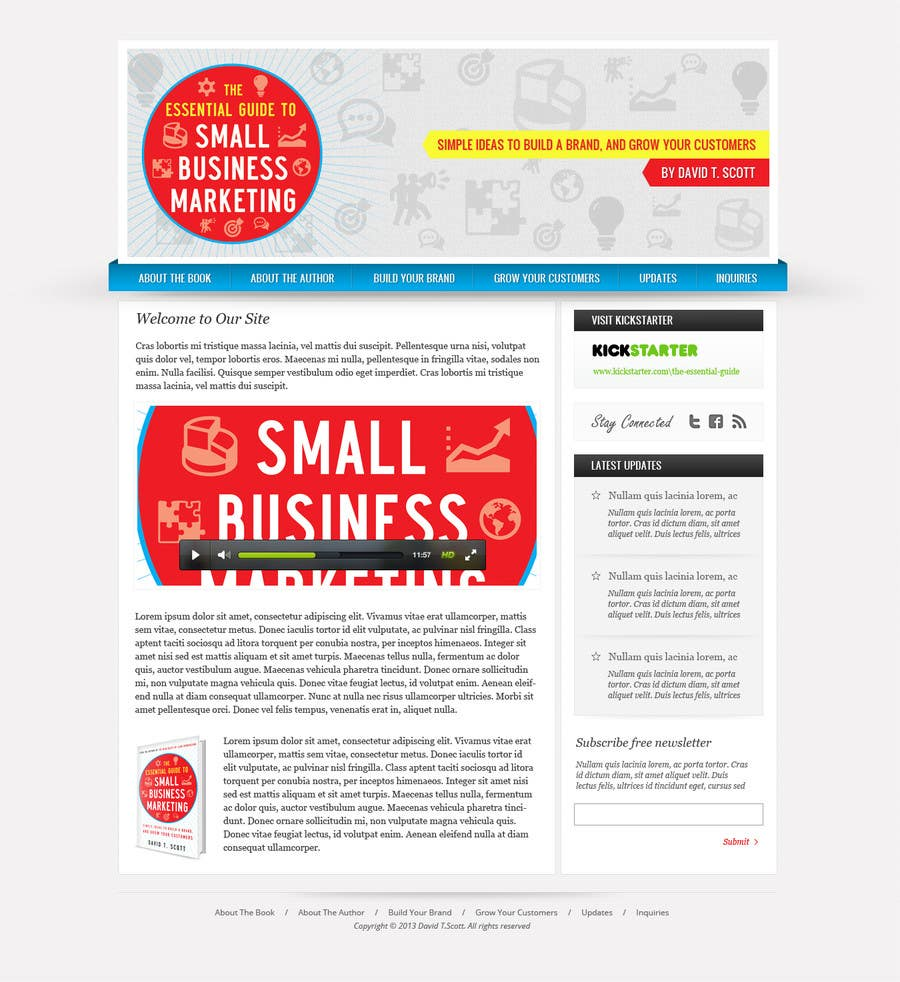 #5 for Build a Website for my new book! by Pavithranmm
