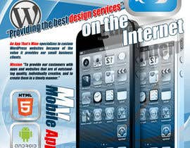MasterR16041980 tarafından Design a Flyer for Mobile App and Website Developer için no 16