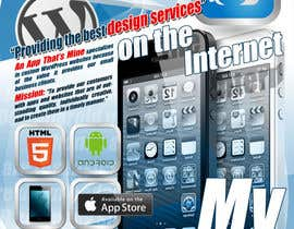 MasterR16041980 tarafından Design a Flyer for Mobile App and Website Developer için no 18