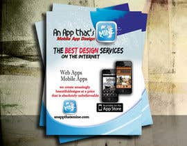 five55555 tarafından Design a Flyer for Mobile App and Website Developer için no 5