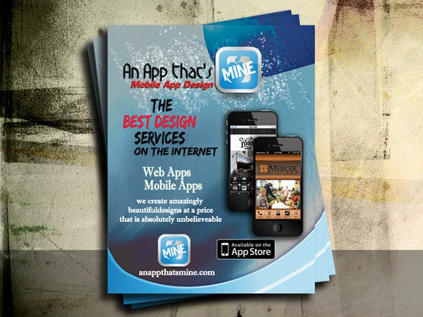 Contest Entry #19 for Design a Flyer for Mobile App and Website Developer