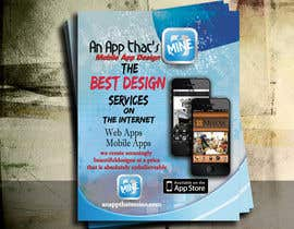 five55555 tarafından Design a Flyer for Mobile App and Website Developer için no 20