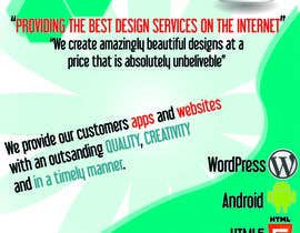 breoshiro tarafından Design a Flyer for Mobile App and Website Developer için no 22