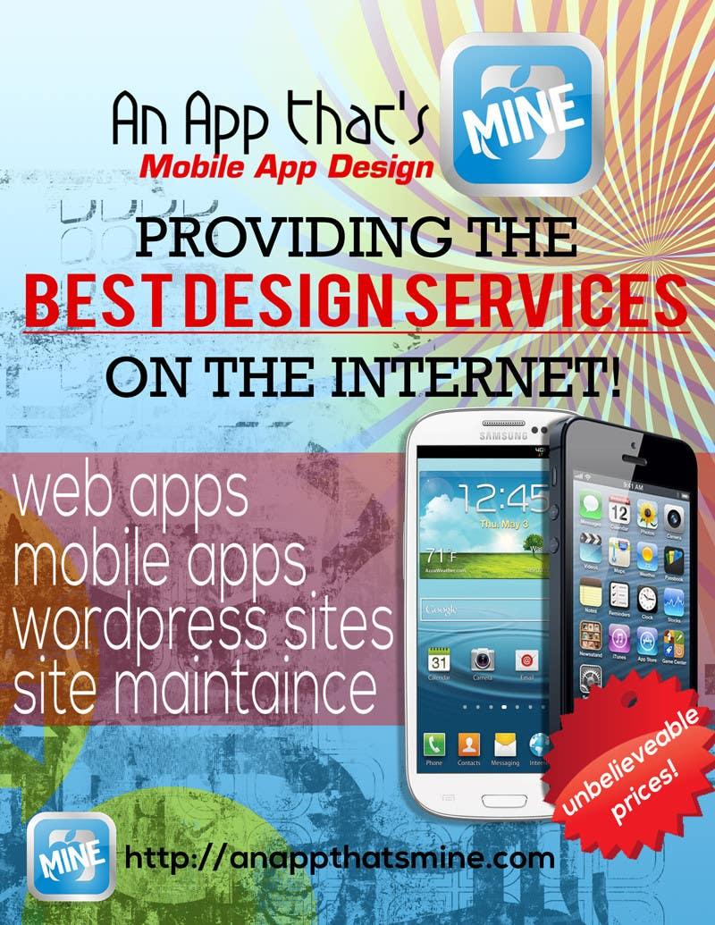 Contest Entry #7 for Design a Flyer for Mobile App and Website Developer