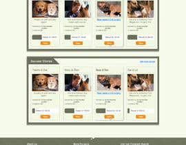 digidreamstech tarafından Design an awesome Website mock-up for PetSaviors için no 14