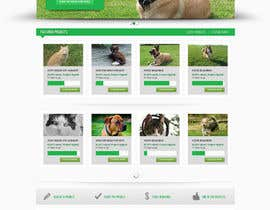 #5 para Design an awesome Website mock-up for PetSaviors por Pavithranmm