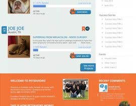 nº 7 pour Design an awesome Website mock-up for PetSaviors par wdcarolina