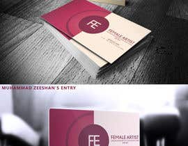 #4 para Design some Business Cards for an Artist who Sing, Dance, Act, Voice Over, Performing Art por Zeshu2011