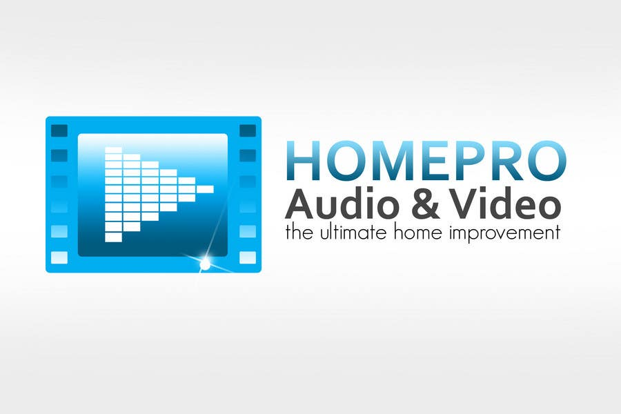 Contest Entry #                                        348                                      for                                         Logo Design for HomePro Audio & Video