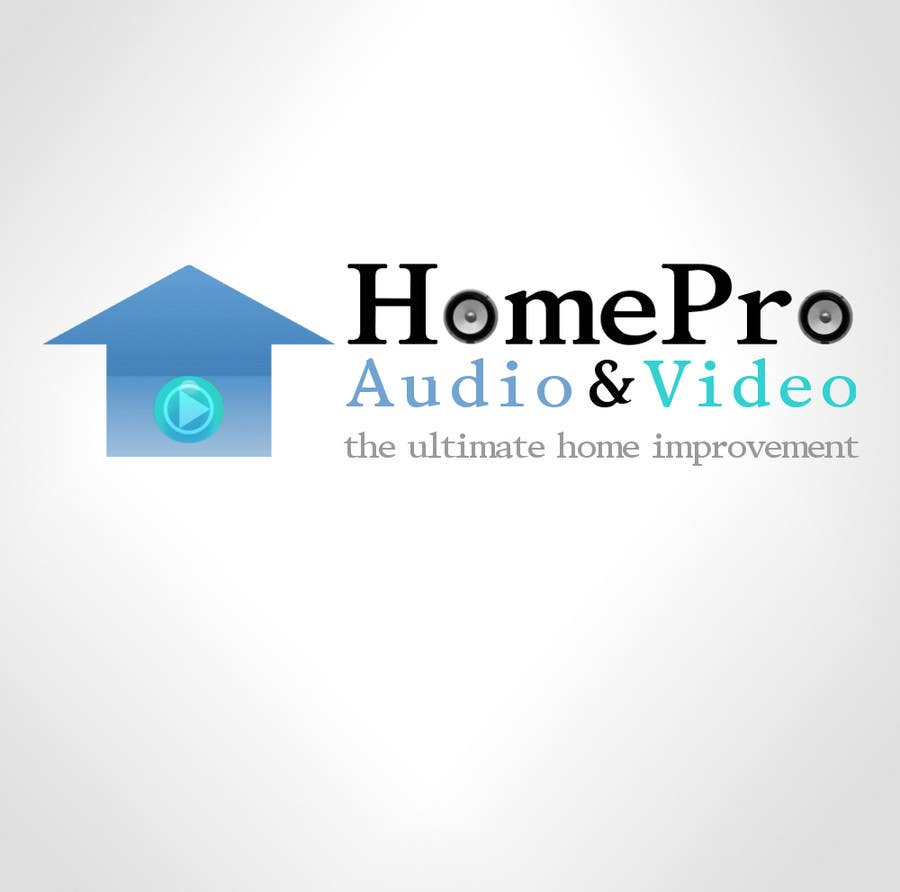 Contest Entry #342 for Logo Design for HomePro Audio & Video