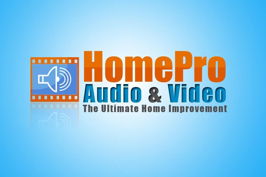 Bài tham dự cuộc thi #                                        316                                      cho                                         Logo Design for HomePro Audio & Video