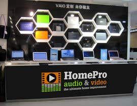 #284 untuk Logo Design for HomePro Audio & Video oleh santarellid