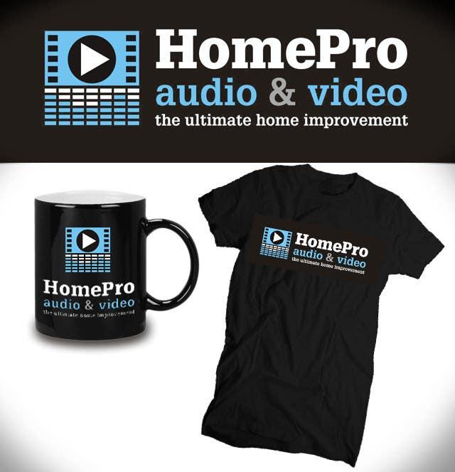 Конкурсная заявка №208 для Logo Design for HomePro Audio & Video