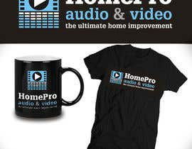 #208 cho Logo Design for HomePro Audio & Video bởi santarellid