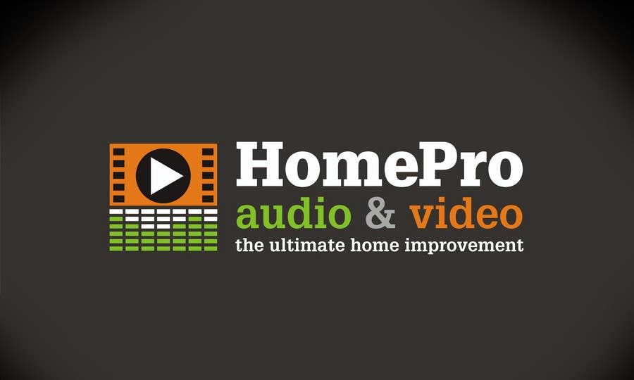 Contest Entry #198 for Logo Design for HomePro Audio & Video