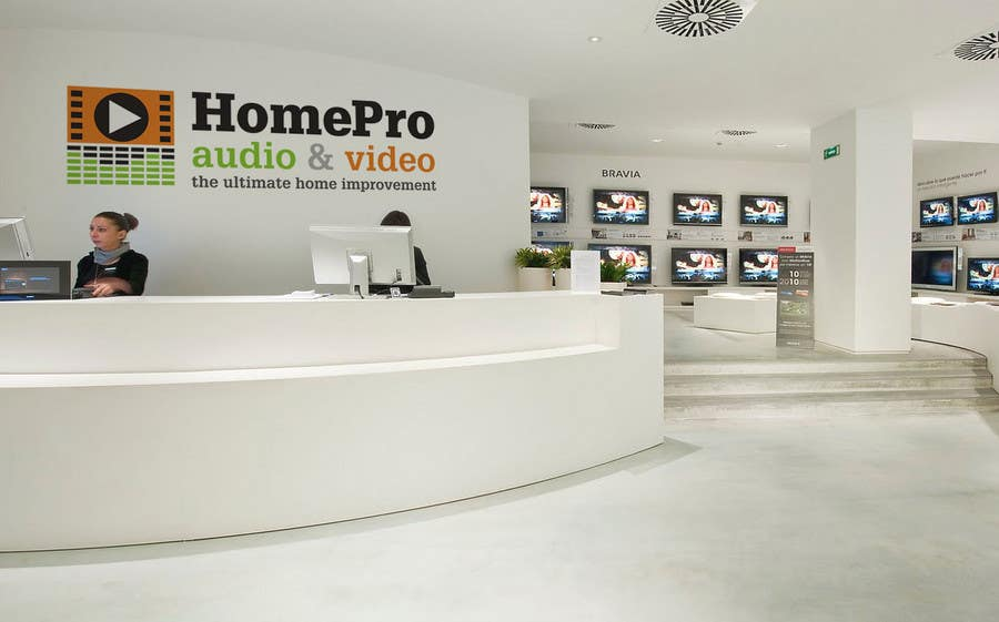 Конкурсная заявка №285 для Logo Design for HomePro Audio & Video